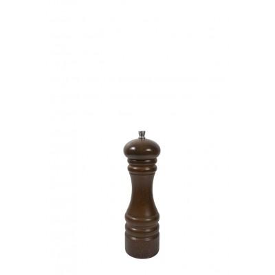 18cm Brązowy młynek drewniany do przypraw