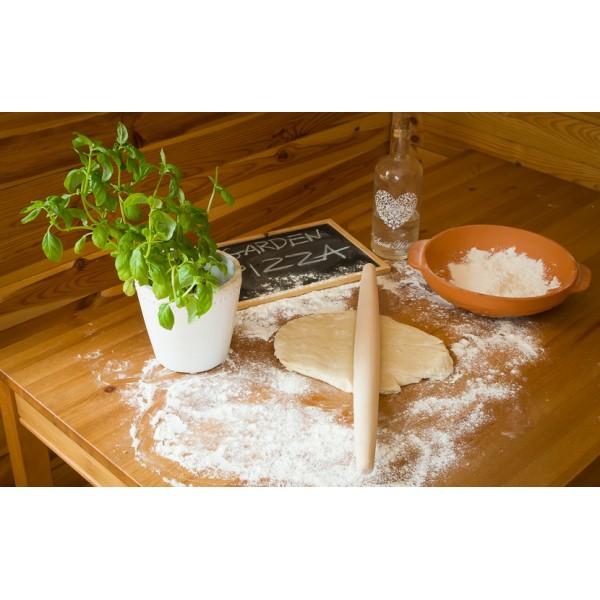 Drewniany wałek do pizzy 50cm zwężany