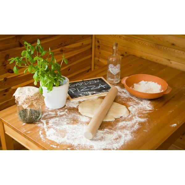 Drewniany wałek do pizzy 44cm GRUBY