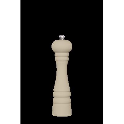 24cm Kość słoniowa- młynek drewniany do przypraw
