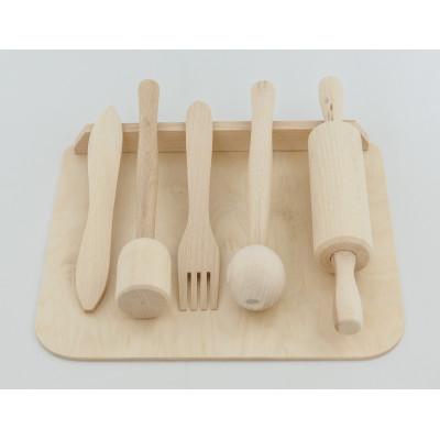 Mini zestaw kuchenny dla dzieci (6 akcesoriów)