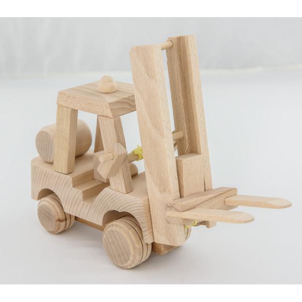 Wózek widłowy (drewniany), widlak