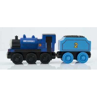 Wagon- drewniana zabawka