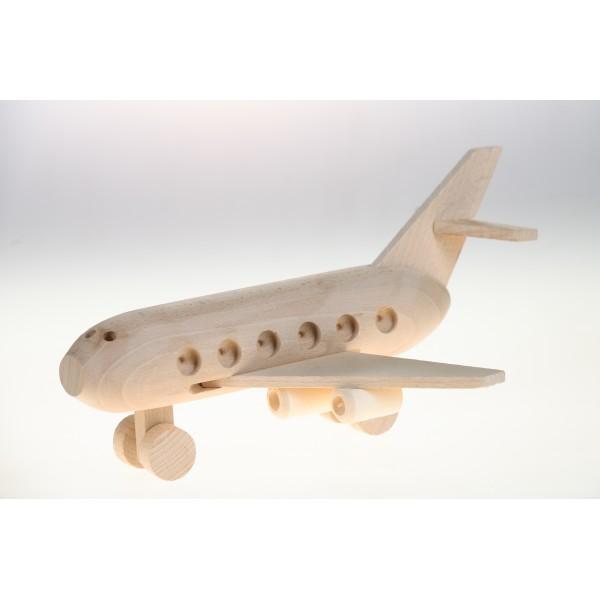 Zabawka, Samolot, (z drewna)