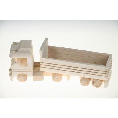 Zabawka, Auto ciężarówka (z drewna)