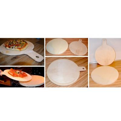 Łopatka do pizzy (okrągła- średnica 30cm + uchwyt)